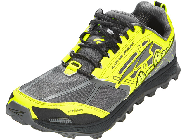 Altra Lone Peak 4 Shoes Men gray/yellow